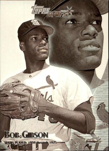 Photo of 2000 Topps Stars #102 Bob Gibson