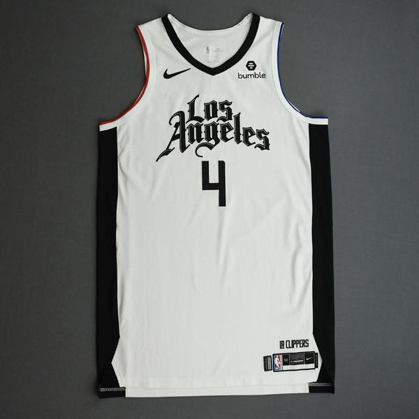 Image of JaMychal Green - Los Angeles Clippers - Game-Worn City Edition Jersey - 2019-20 Season