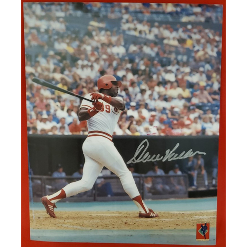 Photo of Dave Parker Autographed Photo (batting in color)