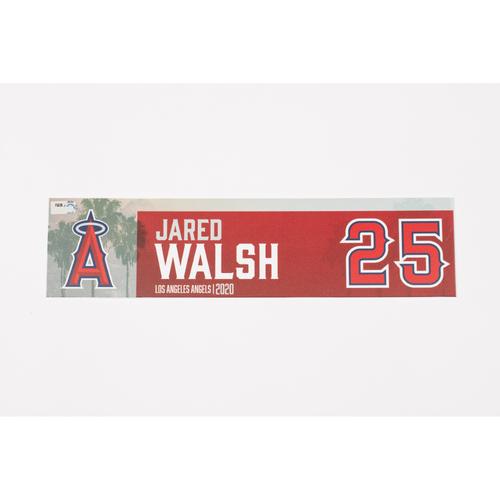 Photo of Jared Walsh 2020 Team Issued Locker Tag