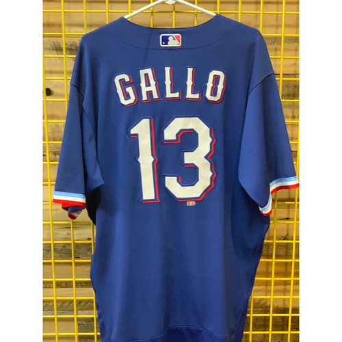Joey Gallo Game-Used Spring Training Jersey