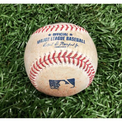 Photo of Game Used Baseball: Michael Chavis foul ball off Blake Snell - September 11, 2020 v BOS