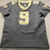 Red Cross - Saints Drew Brees Signed Authentic Jersey Size 48