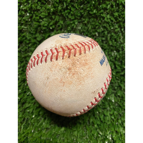 Photo of Charlie Morton Pitched Ball for TWO Strikeouts - Batters: Sandy Leon, Zach Thompson - Also pitched to Joe Panik and Jon Berti - July 4, 2021