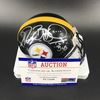 PCC - Steelers Jerome Bettis Signed Mini Helmet with Bus Inscription
