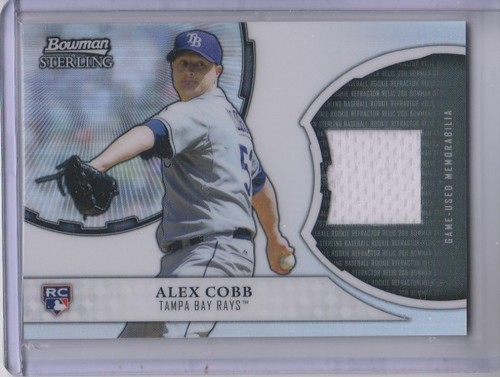Photo of 2011 Bowman Sterling Rookie Relics #ACO Alex Cobb