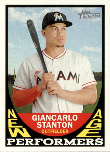 Photo of 2016 Topps Heritage New Age Performers #NAPGS Giancarlo Stanton