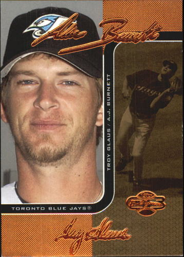 Photo of 2006 Topps Co-Signers Changing Faces Gold #79A A.J. Burnett/Troy Glaus