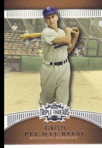 Photo of 2010 Topps Triple Threads Sepia #66 Pee Wee Reese