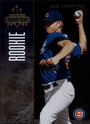 Photo of 2003 Donruss Champions Metalized #282 John Leicester