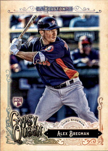 Photo of 2017 Topps Gypsy Queen #240A Alex Bregman Rookie Card