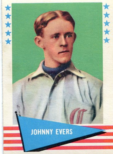 Photo of 1961 Fleer #23 Johnny Evers -- Hall of Fame Class of 1946
