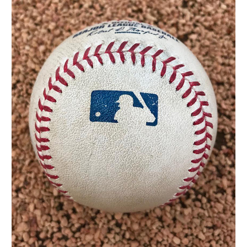 2017 National League Comeback Player of the Year Award Winner Greg Holland Game-Used Swinging Strike Save Baseball.