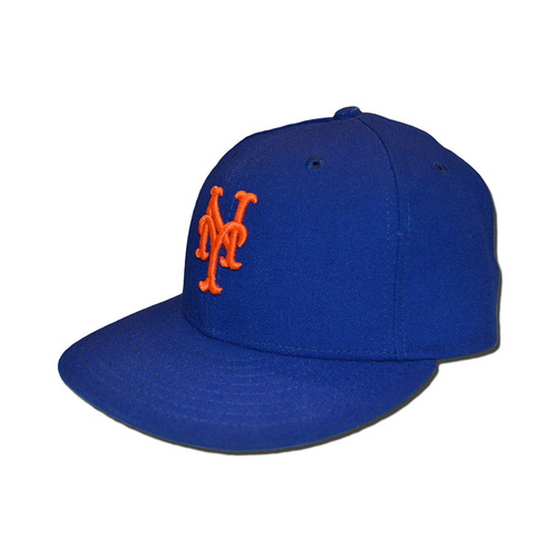 Photo of Steven Matz #32 - Game Used 1986 Throwback Hat - Mets vs. Phillies - 9/25/16