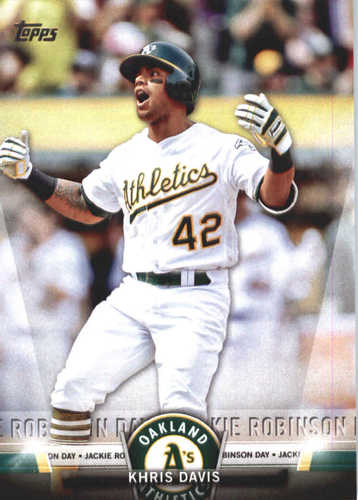 Photo of 2018 Topps Salute #TS11 Khris Davis