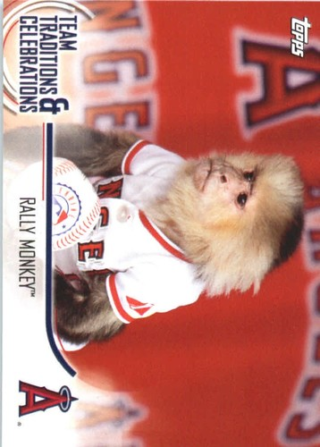 Photo of 2018 Topps Opening Day Team Traditions and Celebrations #TTCRM Rally Monkey