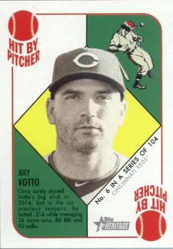 Photo of 2015 Topps Heritage '51 Collection #6 Joey Votto