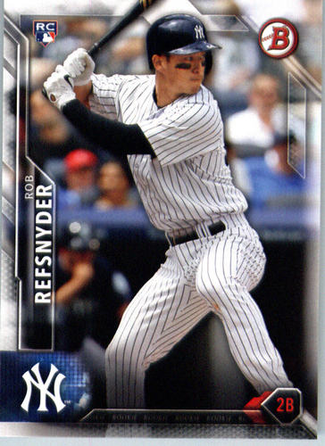 Photo of 2016 Bowman #127 Rob Refsnyder RC