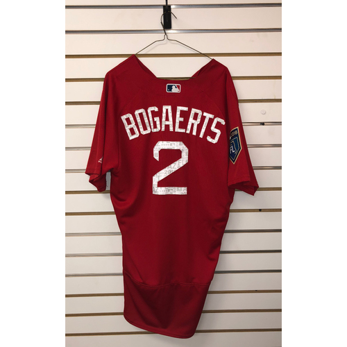 1fa71544b45 Photo of Xander Bogaerts Team-Issued 2018 Spring Training Jersey