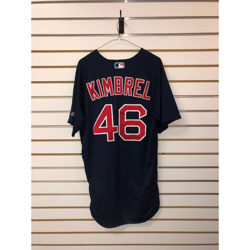 Photo of Craig Kimbrel Game Used June 16, 2017 Road Alternate Jersey