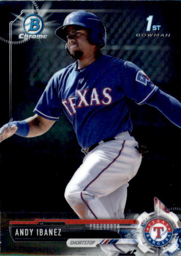 Photo of 2017 Bowman Chrome Prospects #BCP36 Andy Ibanez