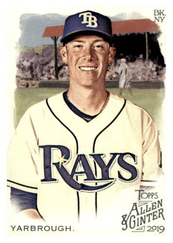 Photo of 2019 Topps Allen and Ginter #288 Ryan Yarbrough