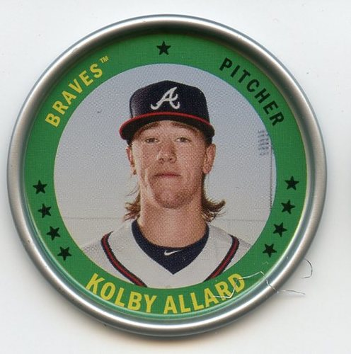 Photo of 2019 Topps Archives Coins #C3 Kolby Allard