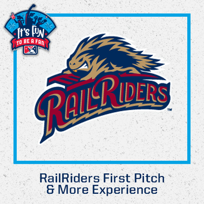 2021 Scranton Wilkes-Barre RailRiders First Pitch & More Experience