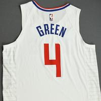 JaMychal Green - Los Angeles Clippers - Game-Worn Association Edition Jersey - NBA Canada Series - 2019-20 NBA Preseason