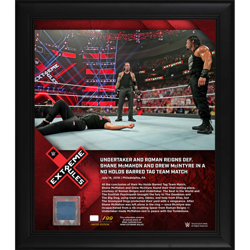 Photo of Extreme Rules 2019 Undertaker and Roman Reigns Frame (#1 of 199)