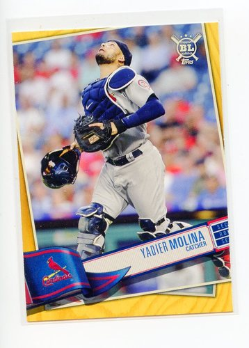 Photo of 2019 Topps Big League Gold #338 Yadier Molina