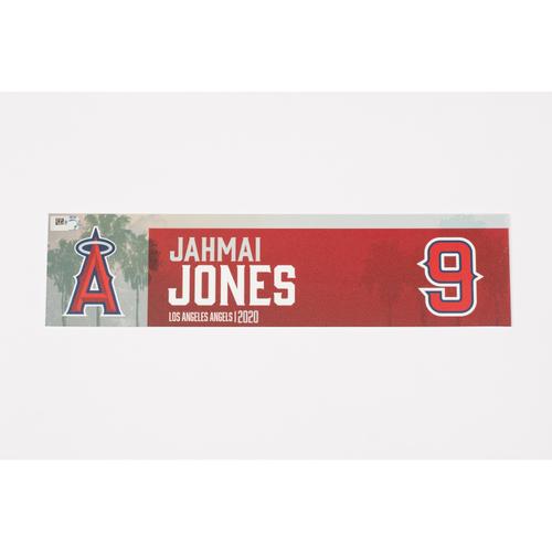 Photo of Jahmai Jones 2020 Team Issued Locker Tag