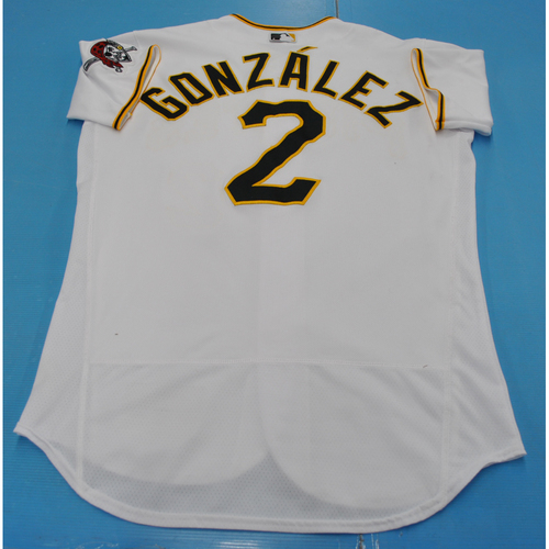 Photo of Game-Used Jersey - 7/27/2020 - MIL vs. PIT - Erik Gonzalez
