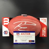 NFL - Seahawks Russell Wilson Signed Authentic Football W/ 100 Seasons Logo