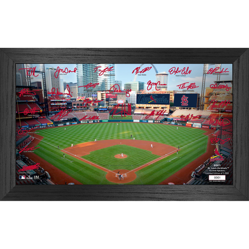 Photo of St. Louis Cardinals 2021 Signature Field Photo Frame