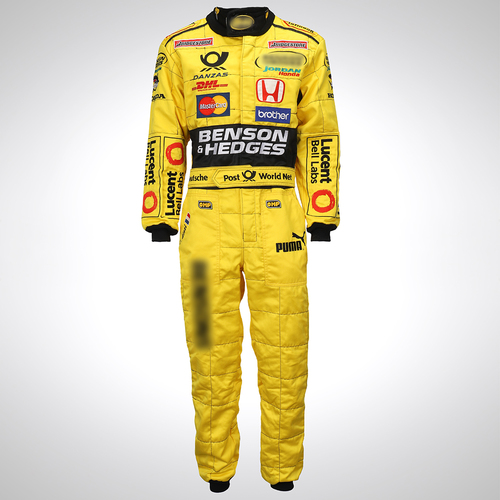 Photo of Jean Alesi 2001 Race Spec Race Suit