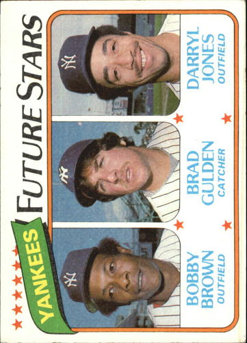 Photo of 1980 Topps #670 Bobby Brown RC/Brad Gulden RC/Darryl Jones RC