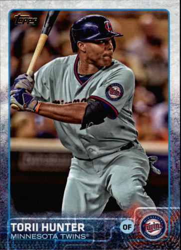 Photo of 2015 Topps #590 Torii Hunter