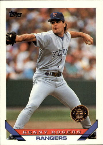 Photo of 1993 Topps Inaugural Rockies #169 Kenny Rogers