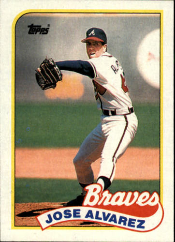 Photo of 1989 Topps #253 Jose Alvarez RC