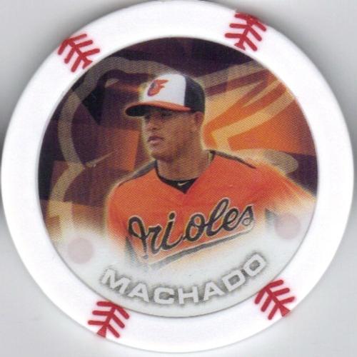 Photo of 2014 Topps Chipz #58 Manny Machado