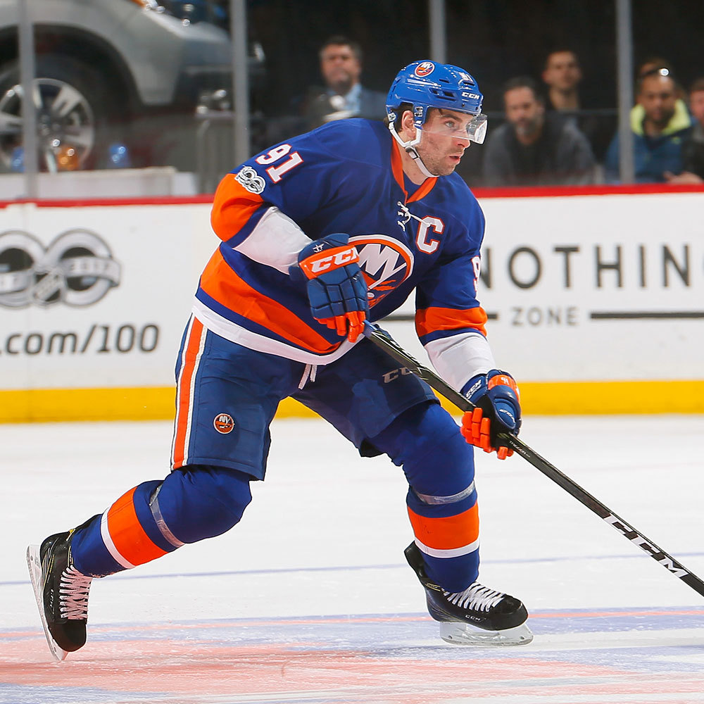 John Tavares- Jersey off the Back-  New York Islanders