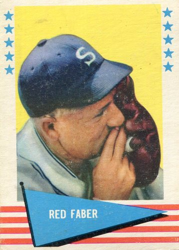 Photo of 1961 Fleer #24 Urban Faber-- Hall of Fame Class of 1964
