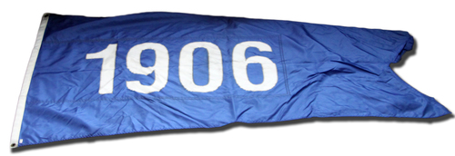 Wrigley Field Collection -- Rooftop Flag -- 1906