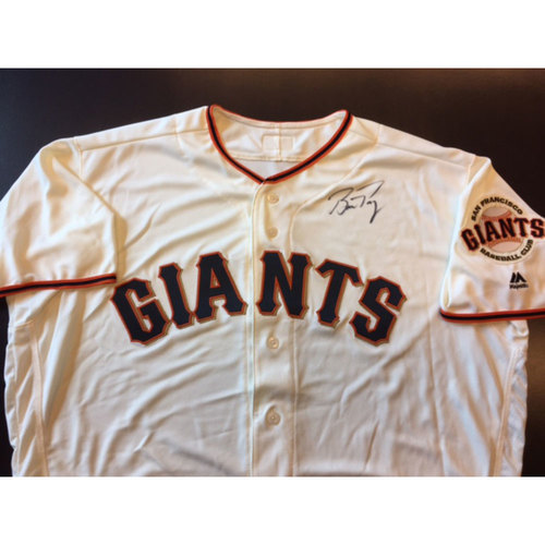 Giants End of Year Auction: Buster Posey Autographed Giants Jersey