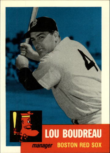 Photo of 1991 Topps Archives 1953 #304 Lou Boudreau MG