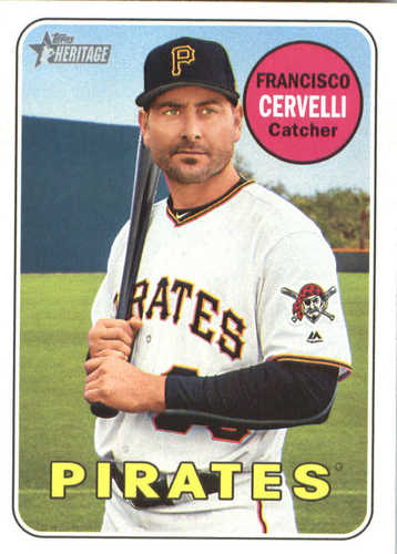 Photo of 2018 Topps Heritage #282 Francisco Cervelli