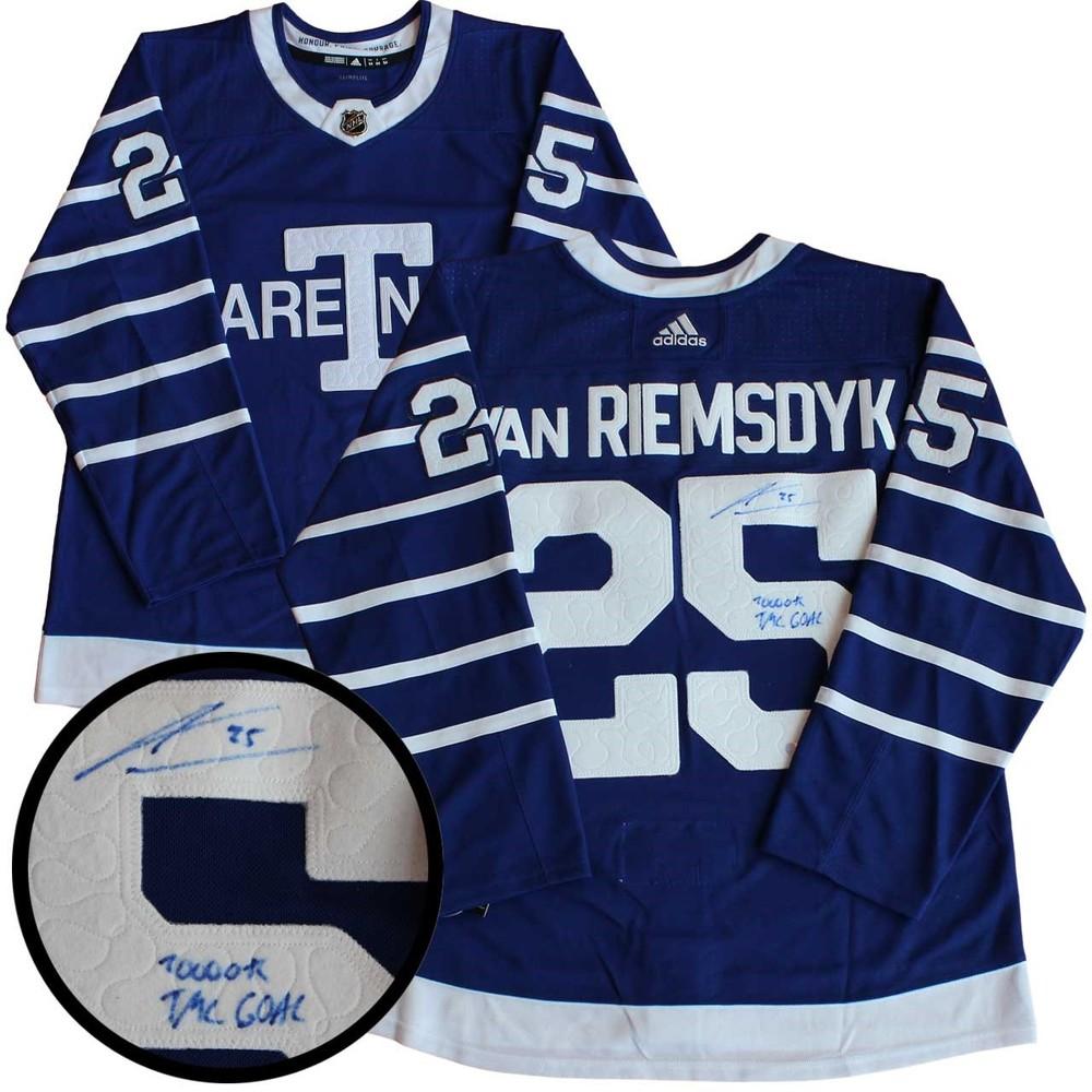 premium selection 4b4bd ea223 James Van Riemsdyk - Signed Jersey Toronto Arenas Insc ...