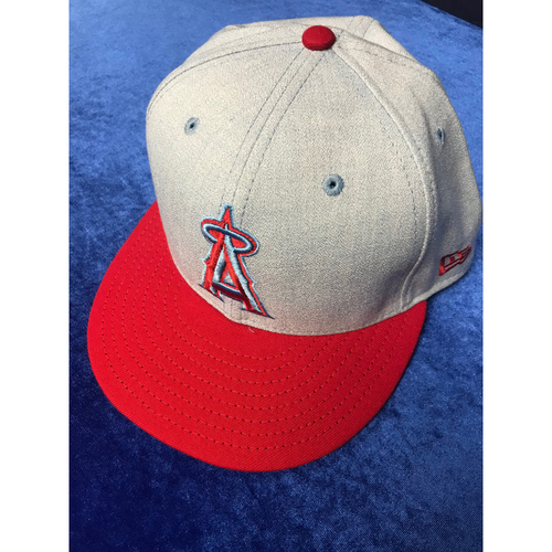 Photo of Albert Pujols 2018 Game-Used Fathers Day Cap
