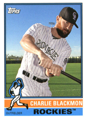 Photo of 2015 Topps Archives #131 Charlie Blackmon